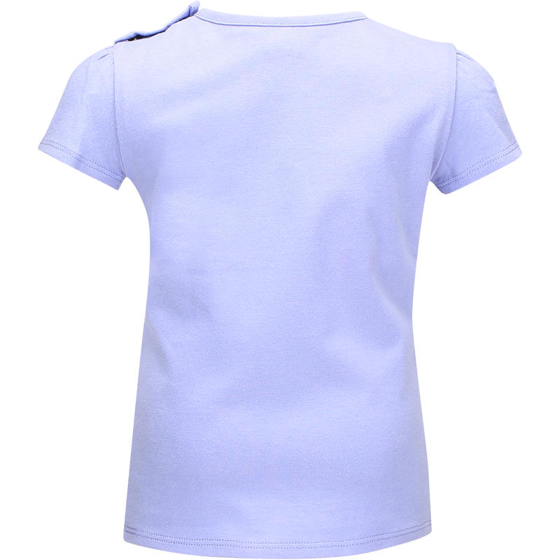 Tee-Shirt manches courtes bébé fille violet