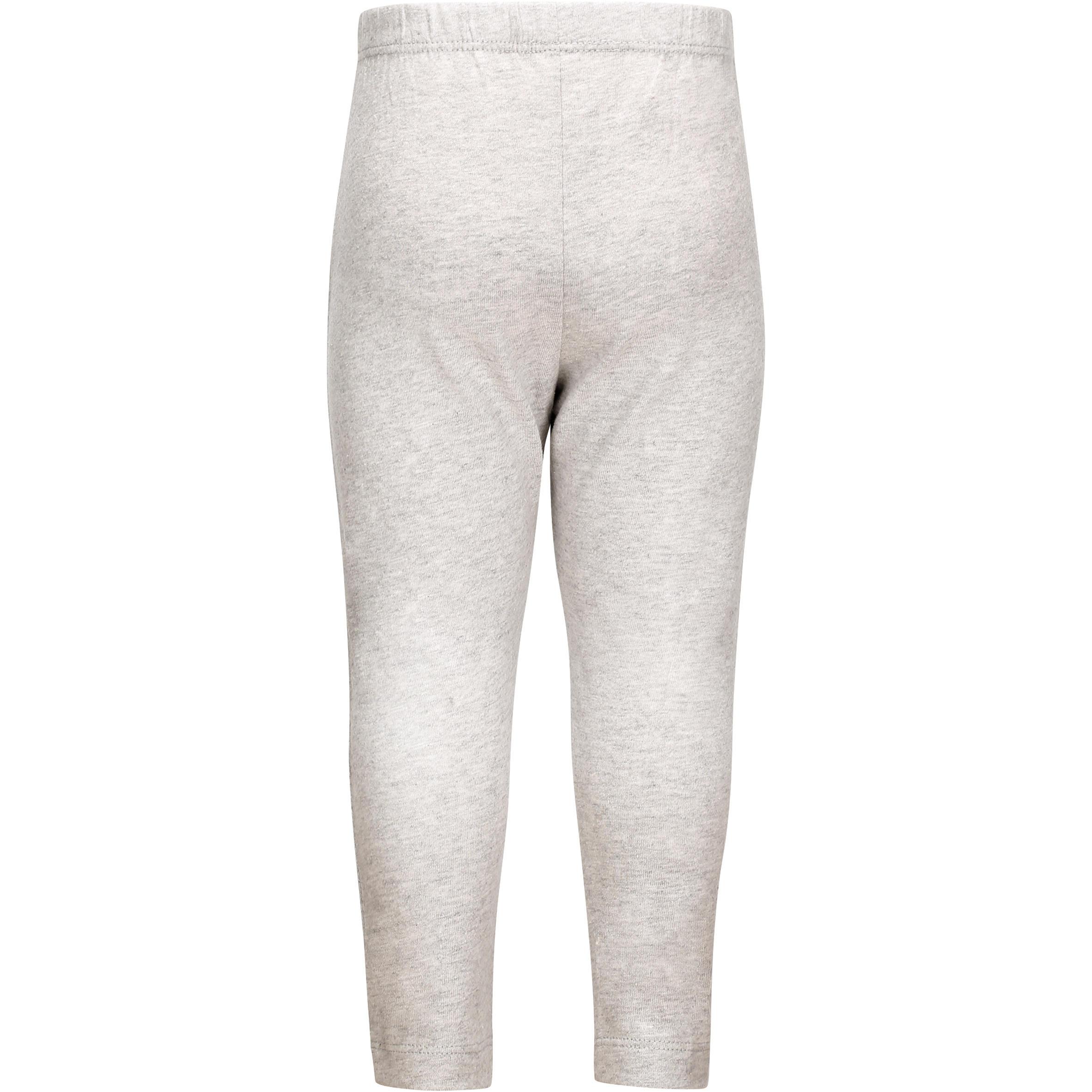 100 Lightweight Baby Gym Bottoms - Grey
