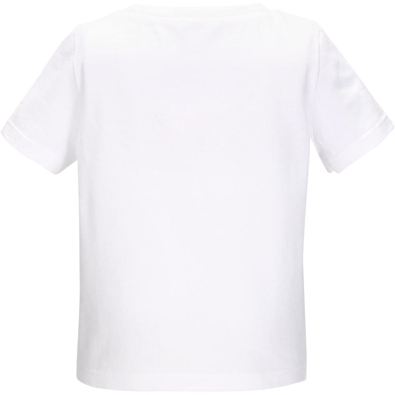 T-Shirt manches courtes 100 Baby Gym blanc