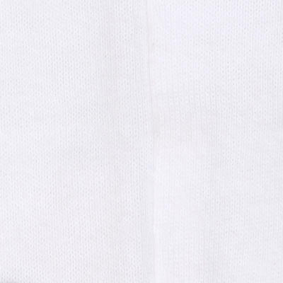 100 Short-Sleeved Baby Gym T-Shirt - White