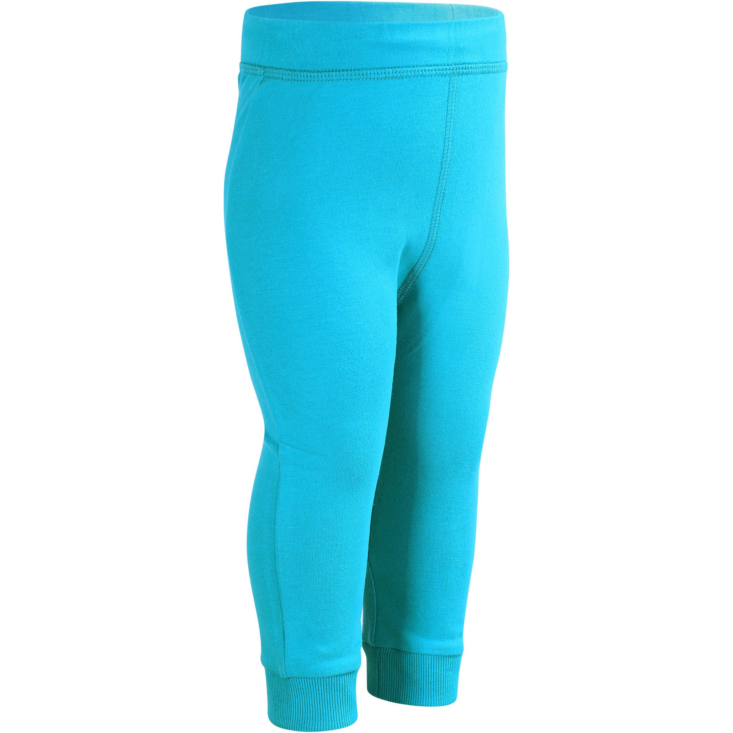 Pantalón cálido de gimnasia infantil azul