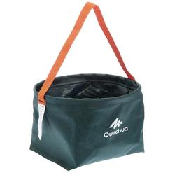 8L CAMPING/HIKER CAMP-SITE FOLDING BASIN - GREEN
