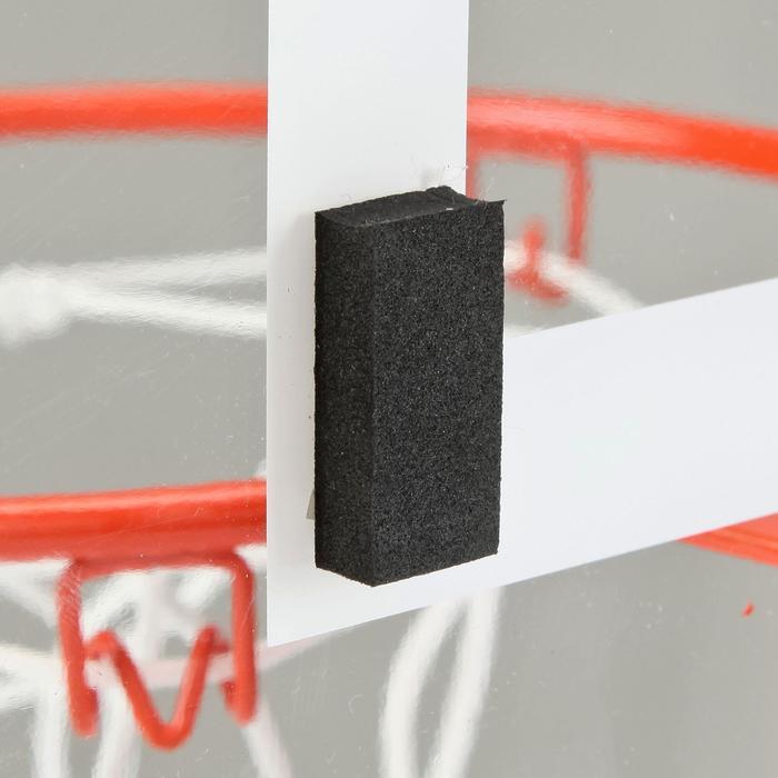 Basketbalbord set Mini B Deluxe voor kinderen en volwassenen, muurbevestiging