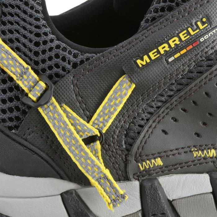 Zapatillas de senderismo naturaleza Merrell Maipo Negro/amarillo hombre