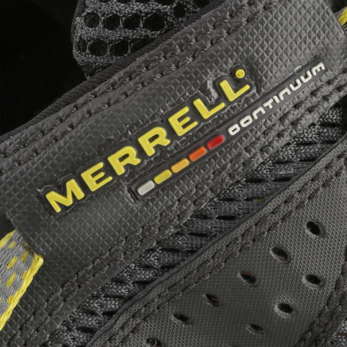 Chaussures de randonnée nature Merrell Maipo noir/jaune homme - 749759