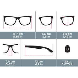 MH 100 Category 3 Polarizing Hiking Sunglasses - Black