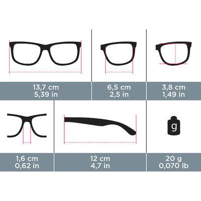 Сонцезахисні окуляри MH 100, категорія 3 - Чорні