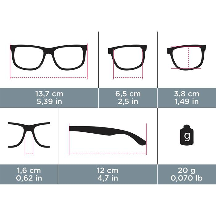 Adult Hiking Sunglasses - MH100 - Category 3