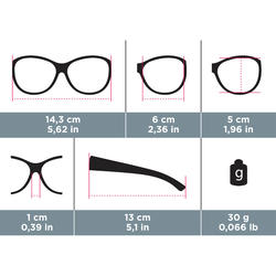 Over-glasses MH OTG 500W Polarising Category 3 - Brown
