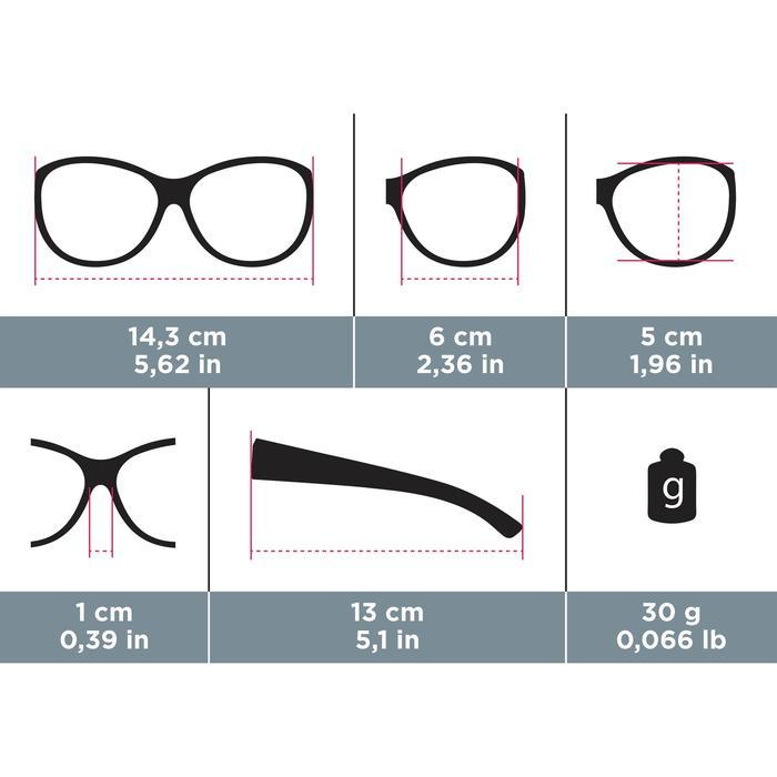Sur-lunettes COVER 500 W marron verres polarisants catégorie 3
