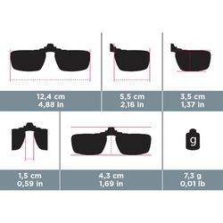 Clip adaptable a las gafas de vista - MH OTG 120 SMALL - polarizado categoría 3