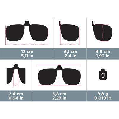 Поляризаційний кліпс для окулярів 120 L Cat 3