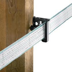 Isolateurs pour ruban et cordelette de clôture équitation Maxitape Duo noir x30