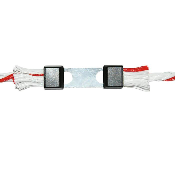 Draad- en koordconnectoren voor paardenomheining