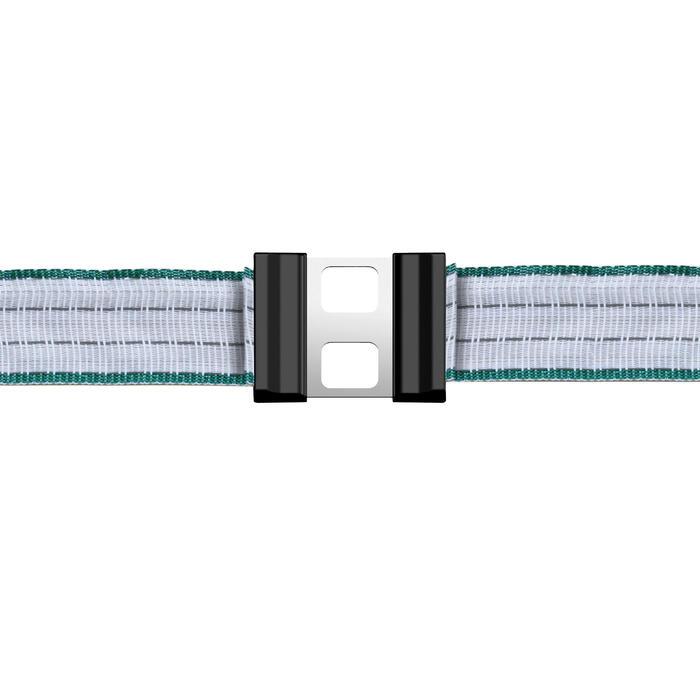 Conectores de fita de 20 mm para cercas de cavalos (lote de 5)
