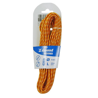 Climbing and Mountaineering Cordelette 3 mm x 10 m - Orange