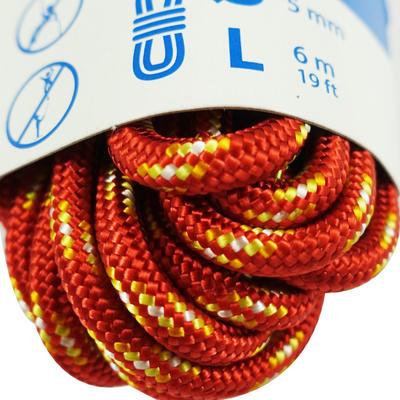 حبل مقاس 5 ملم × 6 م