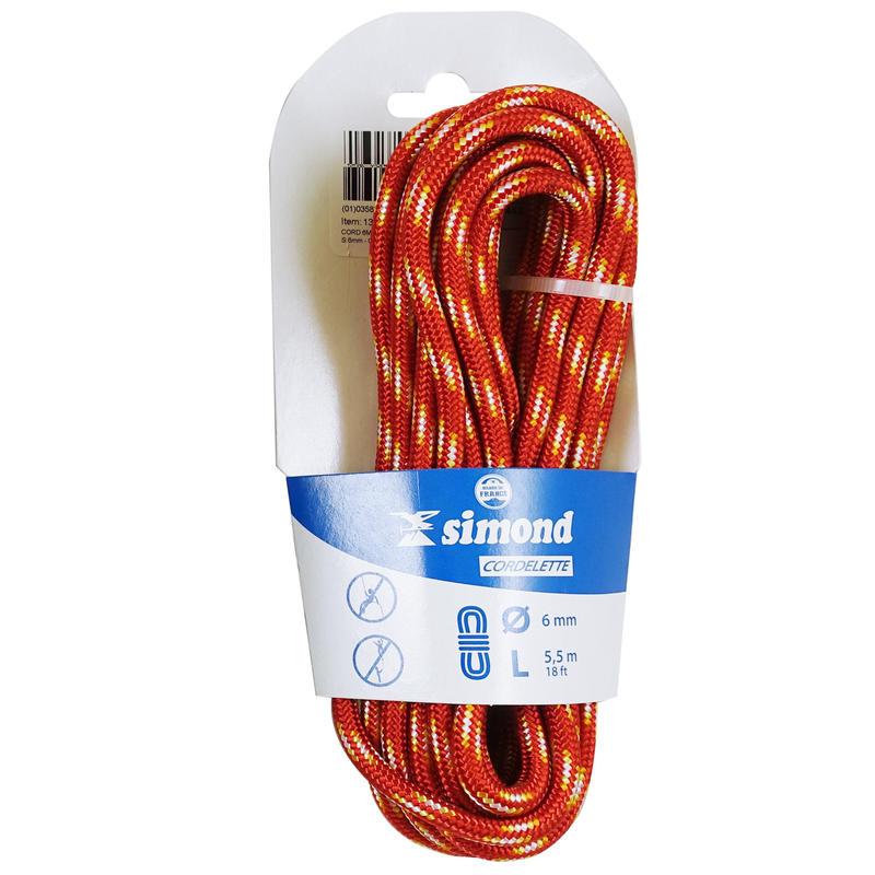 Bộ dây leo núi 5,5 m đường kính 6 mm