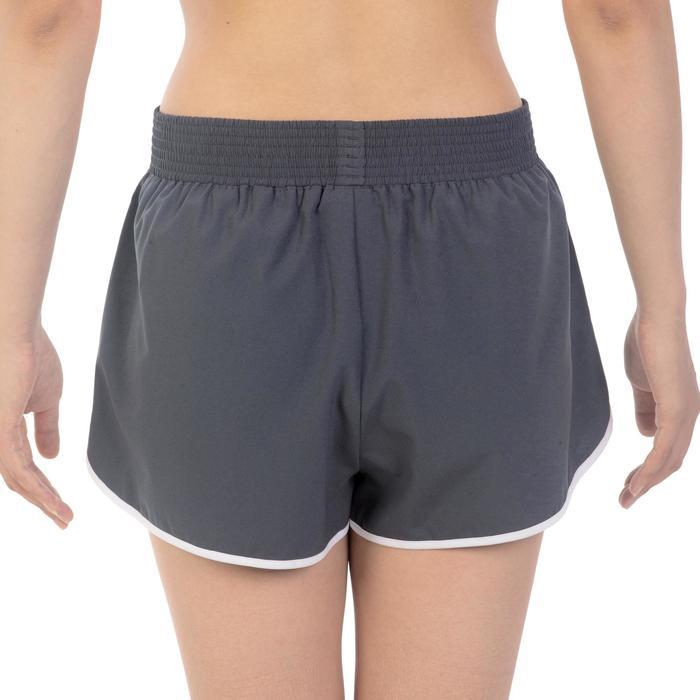 Damesshort Soft voor tennis, badminton, tafeltennis, squash, padel grijs