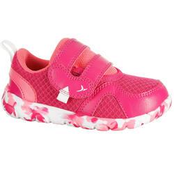 Schoentjes voor kleuterturnen Feasy Light roze/meerkleurenzool - 750629