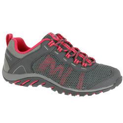 Geventileerde wandelschoenen dames Merrell Riverbed grijs/roze