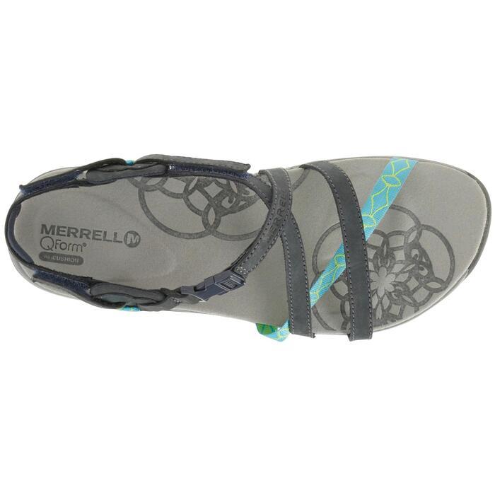 Sandales de randonnée femme Merrell Jacardia bleu - 750797