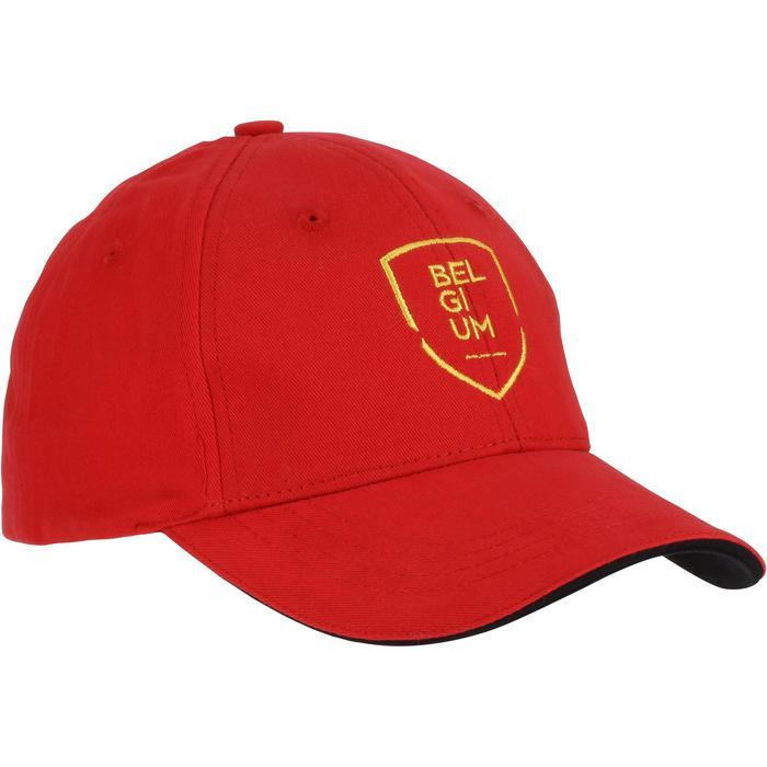 Casquette supporter enfant FP300 Belgique rouge - 750855