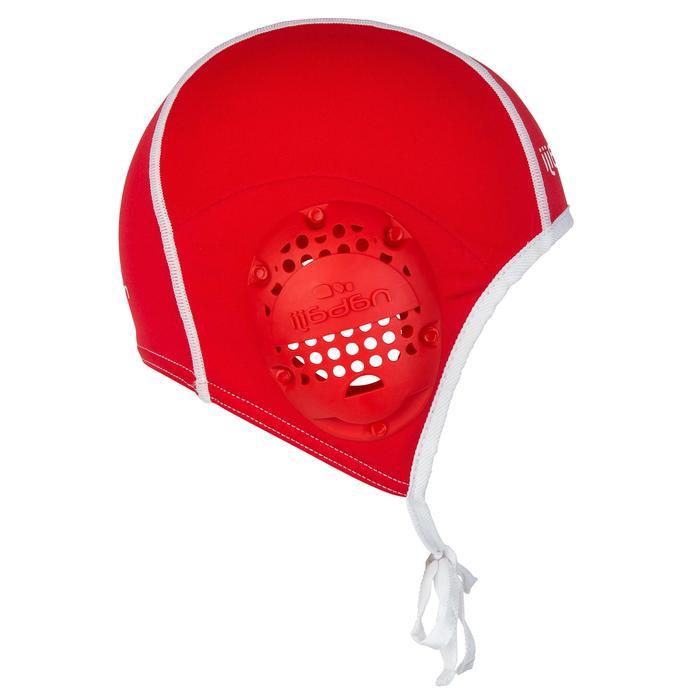 Waterpolocap voor de training volwassenen rood