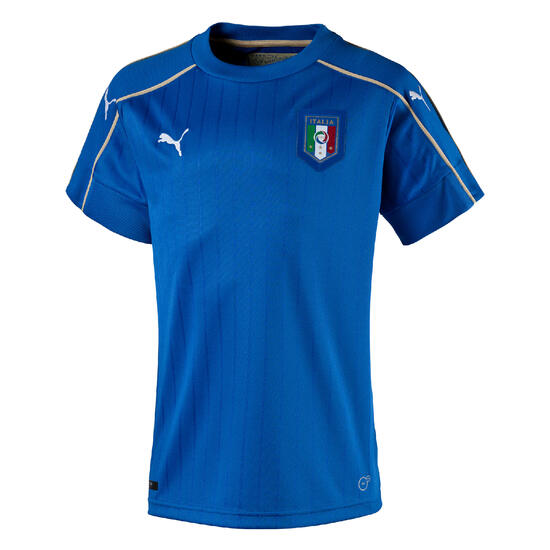 Voetbalshirt Italië thuisshirt EK 2016 kinderen blauw - 750961