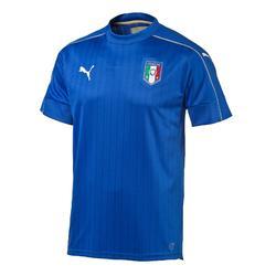 Voetbalshirt voor volwassenen, replica thuisshirt Italië 2016 blauw