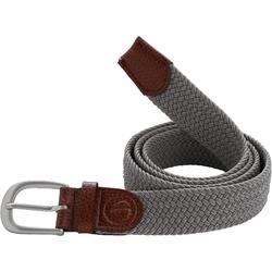 500 Adult Golf Size 2 Stretchy Belt - Grey