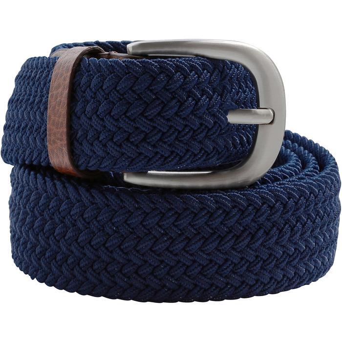 Cinturón de golf extensible 500 adulto azul marino talla 2