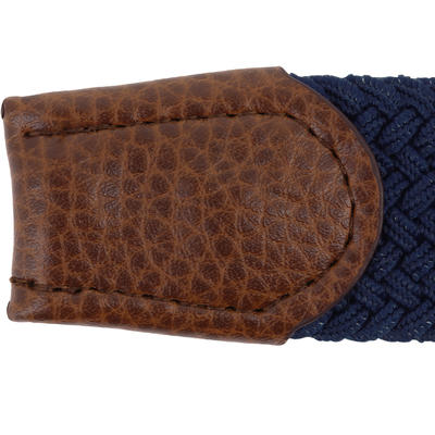 Cinturón de golf extensible adulto 500 azul oscuro talla 2