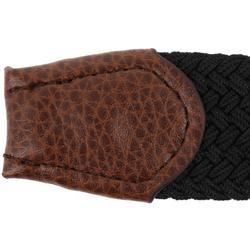 Cinturón de golf extensible 500 adulto negro talla 2