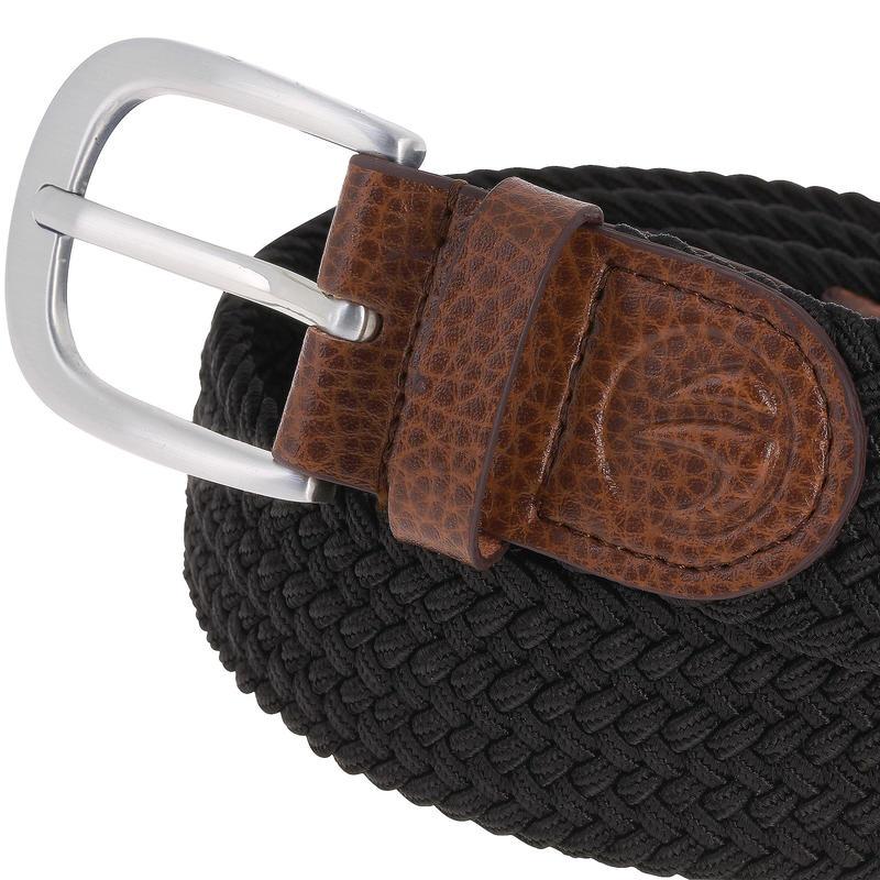 500 Adult Golf Size 2 Stretchy Belt - Black