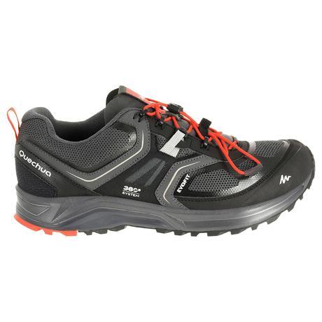 Chaussures de randonn e rapide homme forclaz 500 helium noir quechua - Hamac sur pied decathlon ...
