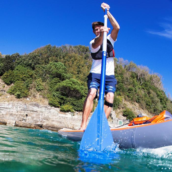 PALA STAND UP PADDLE 100 DESMONTABLE AJUSTABLE 170-210 CM AZUL