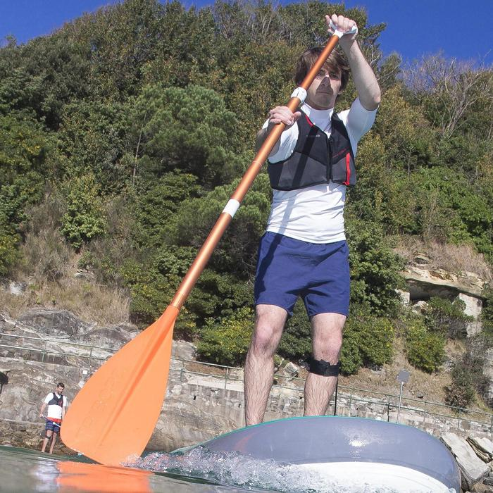 SUP-Paddel Stand Up Paddle 100 verstellbar 170–210cm orange