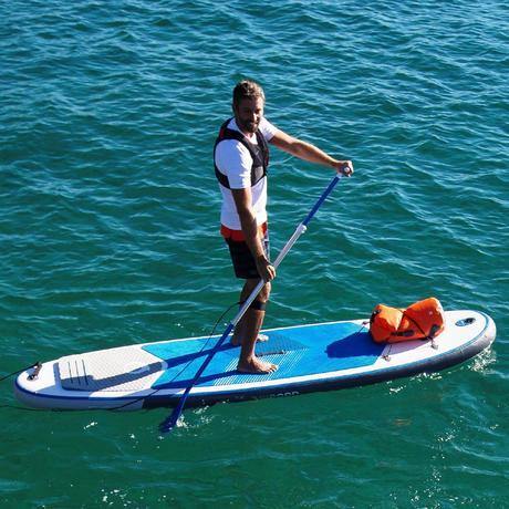 sup stand up paddle gonflable 10 39 7 bleu tribord. Black Bedroom Furniture Sets. Home Design Ideas