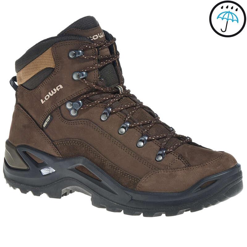 Buty trekkingowe męskie Turystyka, trekking - Buty turystyczne wysokie męskie Renegade Man GTX  LOWA - Obuwie trekkingowe i turystyczne