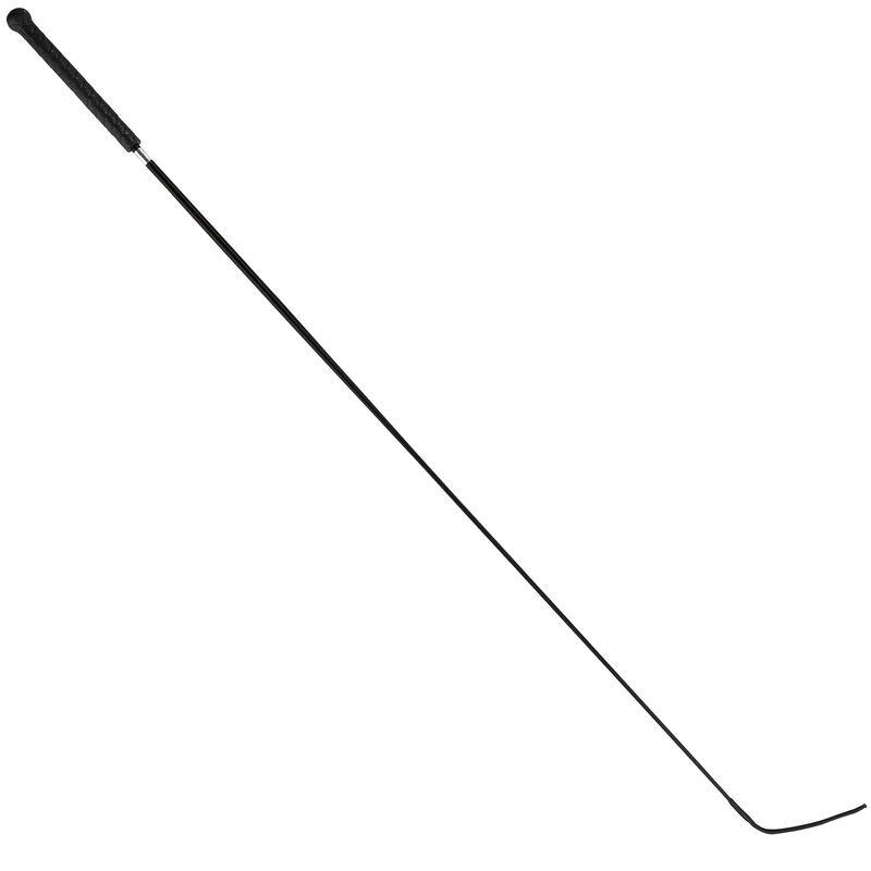 Cravaşă Echitaţie Dresaj Eco 110 cm Negru
