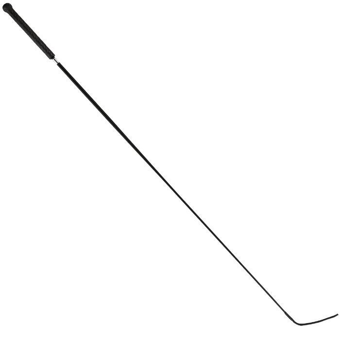 Dressuurzweep ECO ruitersport 110 cm zwart