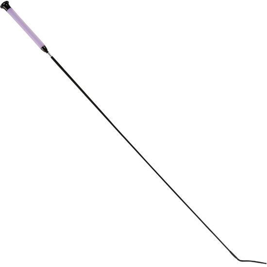 Dressuurzweep voor ruitersport Gel 110 cm paars - 751317