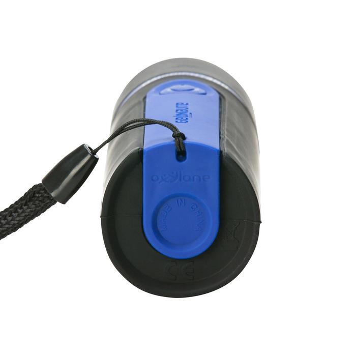 Lampe torche de bivouac à piles - ONBRIGHT 300 Rubber Bleue - 30 lumens