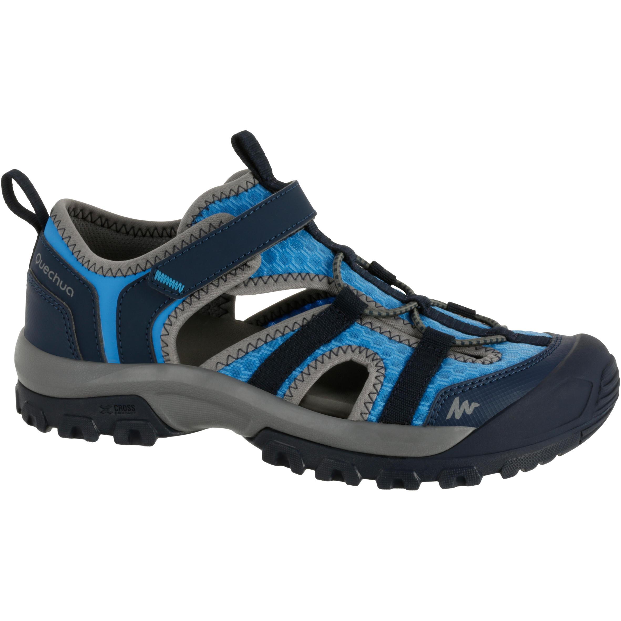 Sandalias de campamento para niños Arpenaz 200 azul