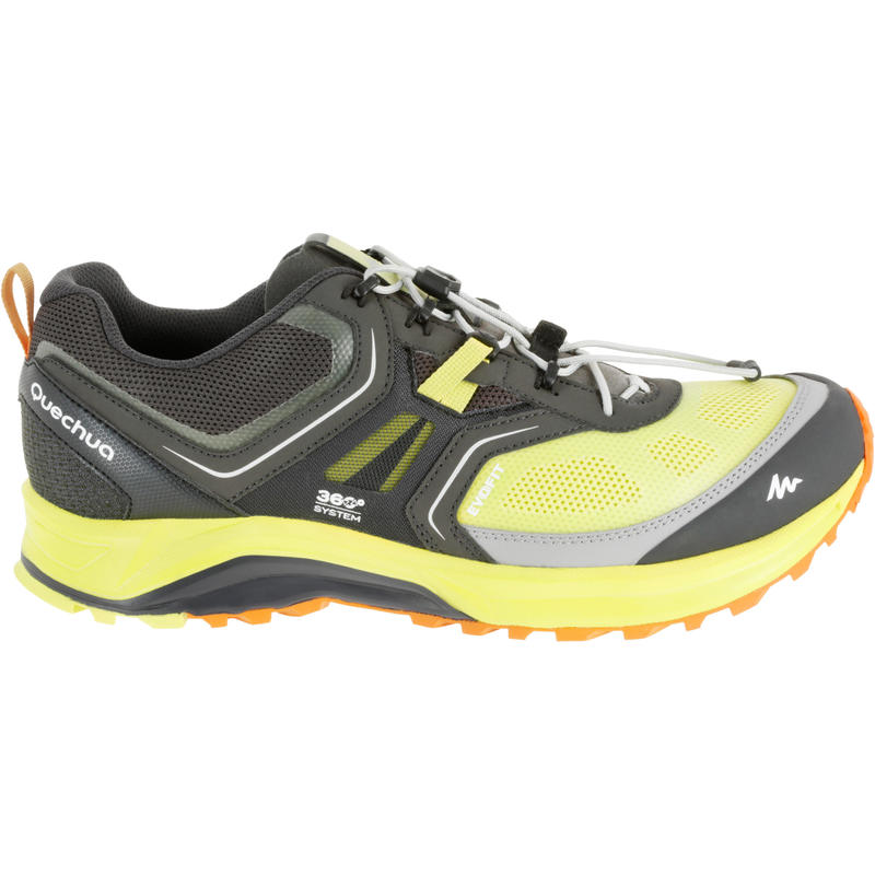 Forclaz 500 Helium Men's Hiking shoes yellow