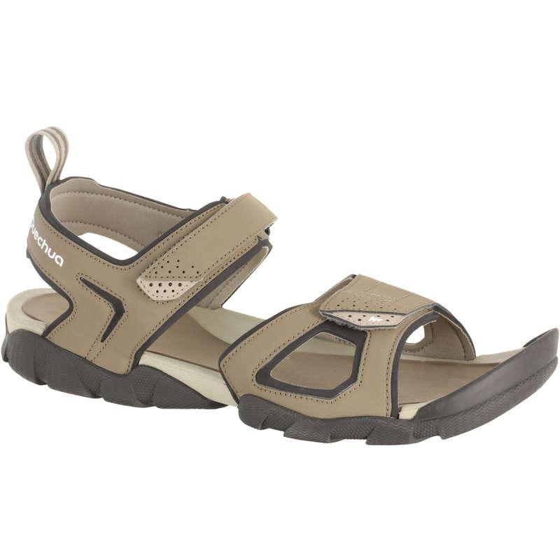 Férfi szandál, nyári cipő Túrázás - Férfi szandál NH100 QUECHUA - Cipő, bakancs, szandál