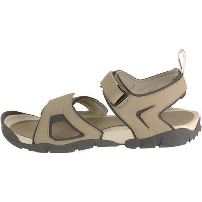 Sandalias de excursionismo hombre Arpenaz 50 beige