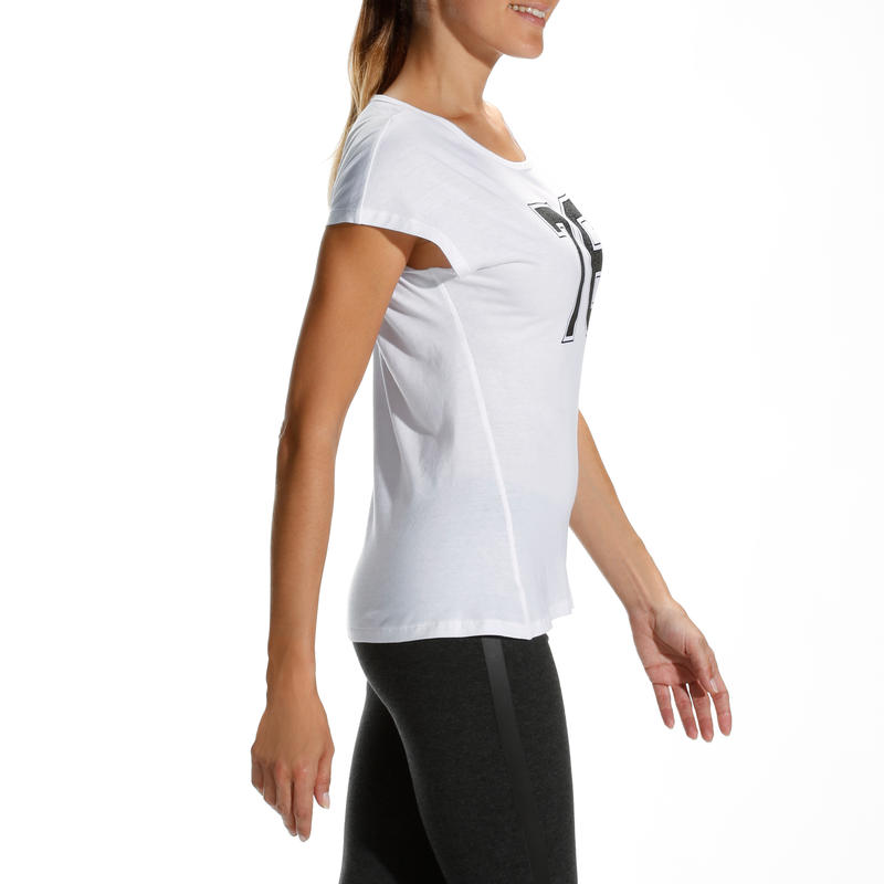 Essential Women's Fitness T-Shirt - White