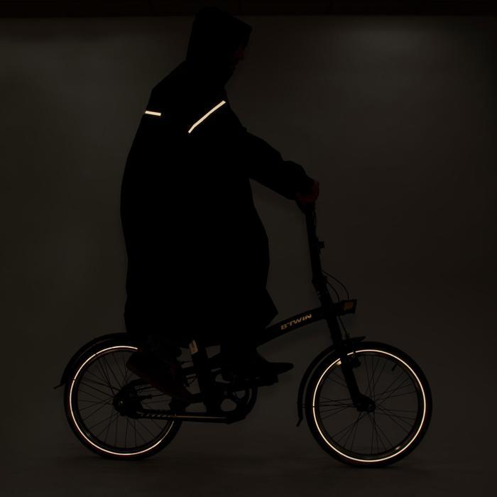 Poncho pluie vélo ville 500 adulte - 75224